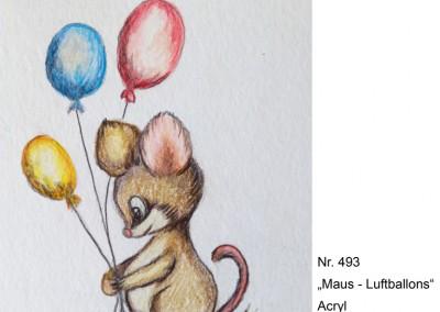 KF 0493 - Maus-Luftballons -