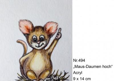 KF 0494 - Maus-Daumen hoch -