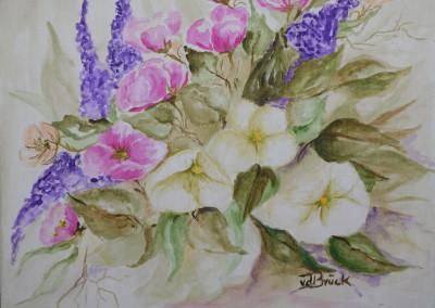 KF 0496 - Blumen -